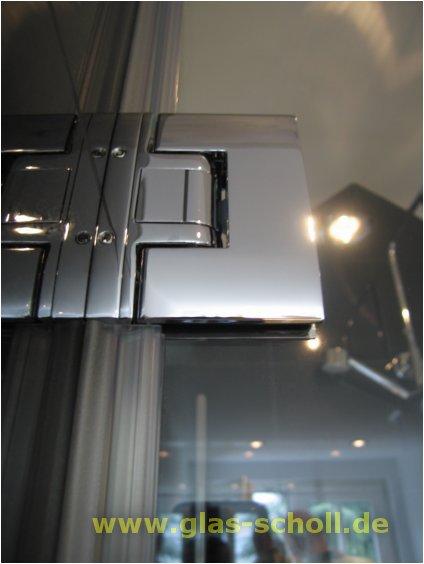 doppelfl glige dusche 2 s ulen und 2 festen seitenteilen pontere beschlag geschlossen von. Black Bedroom Furniture Sets. Home Design Ideas