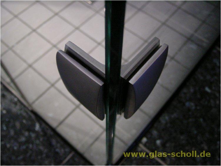 Handtuchhalter Dusche Glas : 90° Glas-Glas-Winkelhalter
