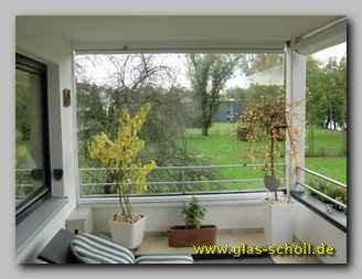 Windschutz Balkon Glas | Balkon Schiebe Wand Als Offenbarer Balkon Windschutz Von Glas Scholl