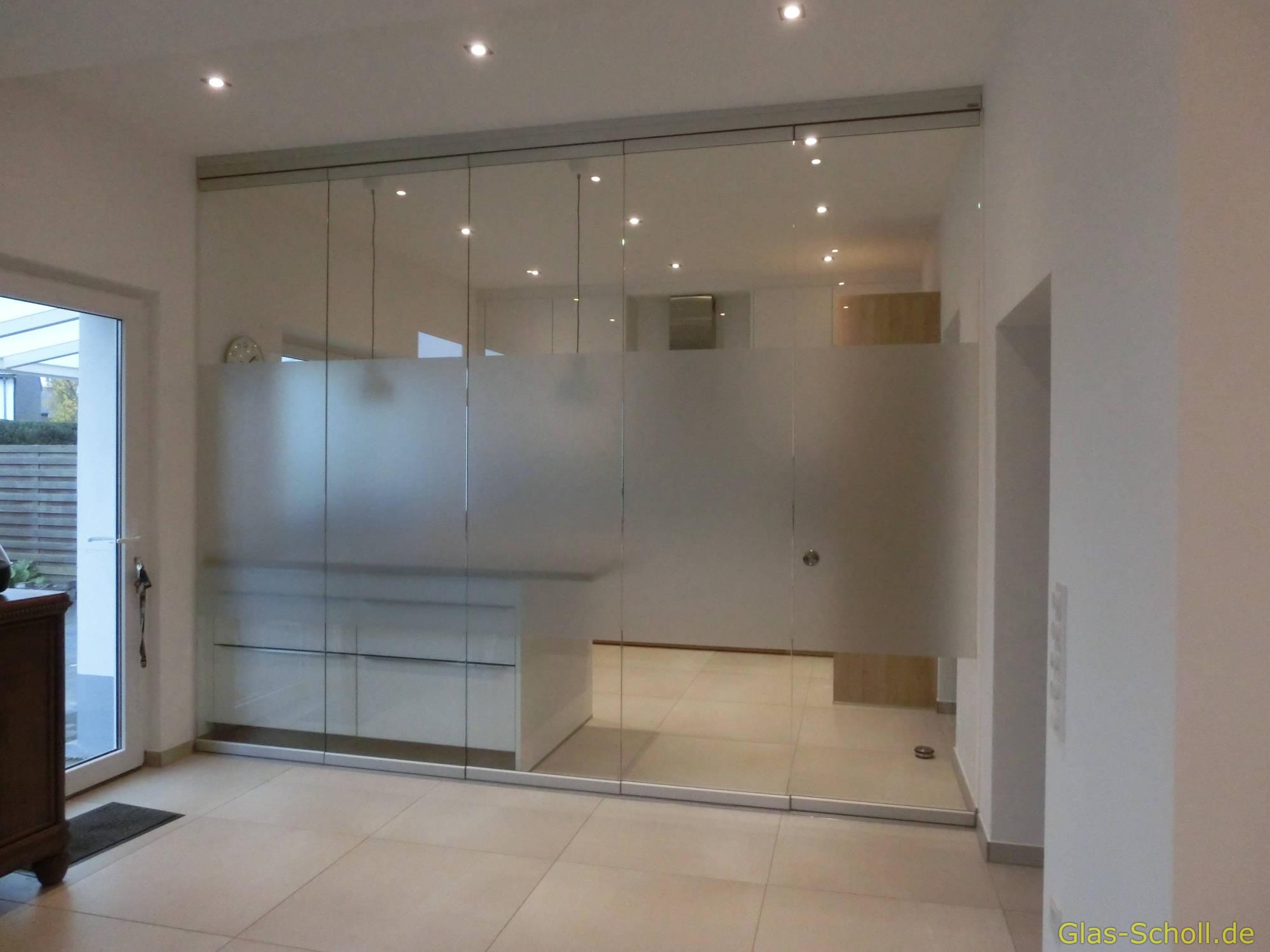 Küchen Glas-Trennwand von Glas Scholl - www.glas-scholl.de