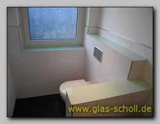 fensterb nke und ablagen aus farbigem glas. Black Bedroom Furniture Sets. Home Design Ideas