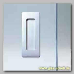 Die Griffmuscheln Und Türgriffe Für Schiebetüren Von Glas