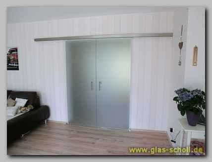 2 fl glige portavant60 schiebet re mit softstop von glas for Wohnzimmer gelsenkirchen