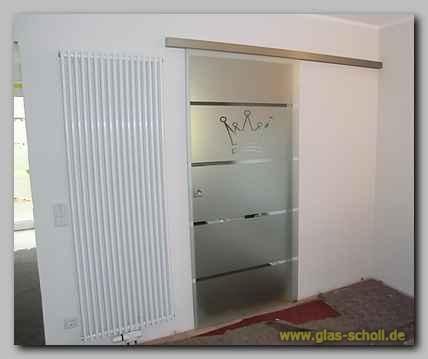 Schiebetur Glas Einbauen: Offene küche: schiebetür ...