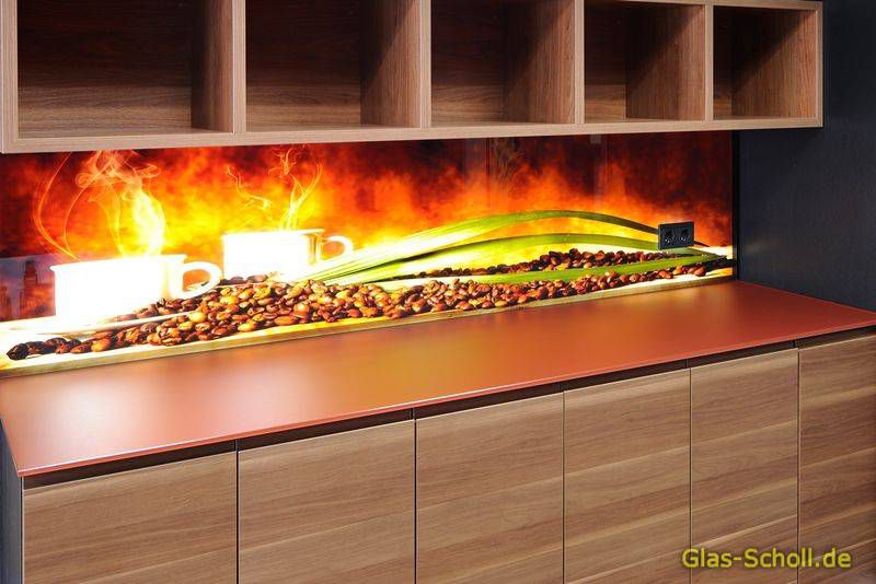 Küchenrückwände Aus Glas Mit Digitaldruck Und Led-Beleuchtung Von