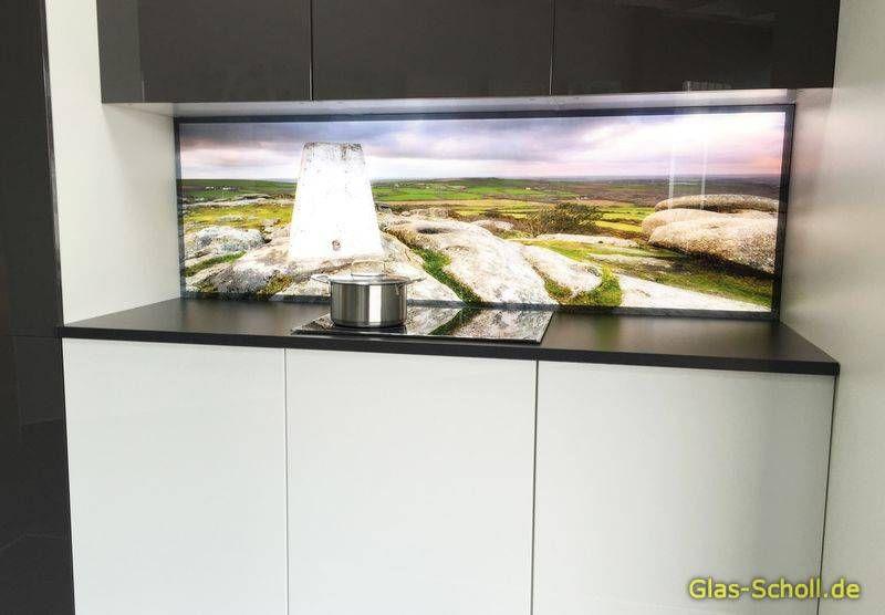Stunning Küchenrückwand Glas Bedruckt Contemporary - Milbank ...