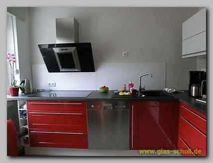 Küchenspritzschutz Mit Apfelblüten Digitaldruckmotiv Von Glas
