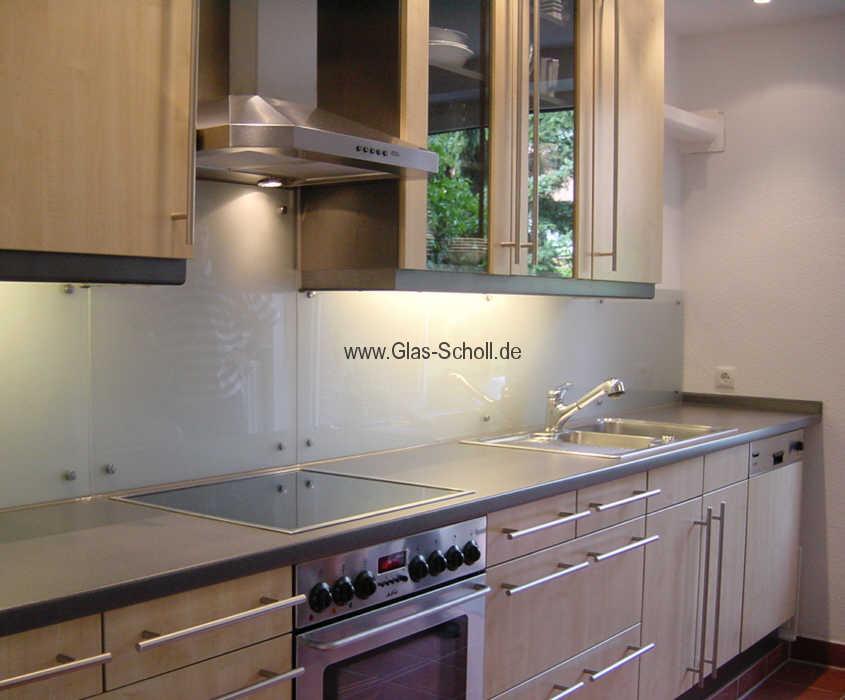 Beautiful Spritzschutz Küche Glas Ideas - Milbank.us - milbank.us
