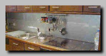 k chenspritzschutz mit farbigen ornament scheiben auf abstand von glas scholl duisburg. Black Bedroom Furniture Sets. Home Design Ideas